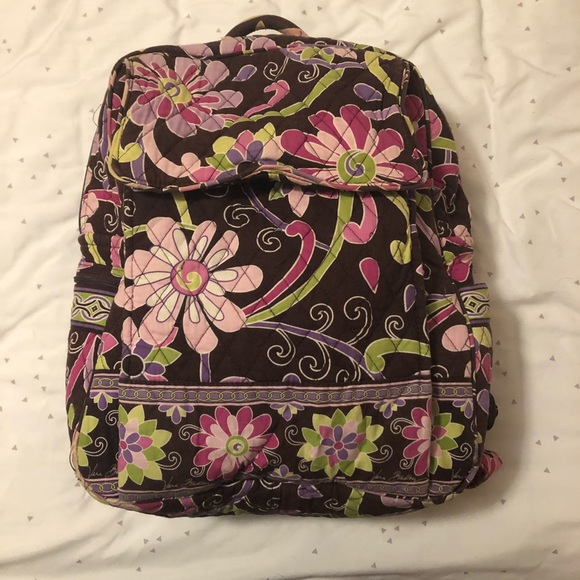 Vera Bradley Bags   Backpack Purple Punch   Poshmark 35c8420ce2